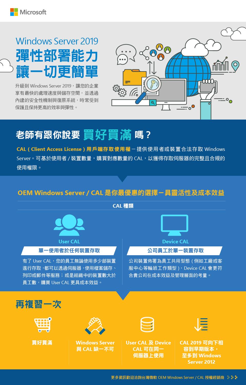 Windows Server 2019 - OEM Windows Server / CAL