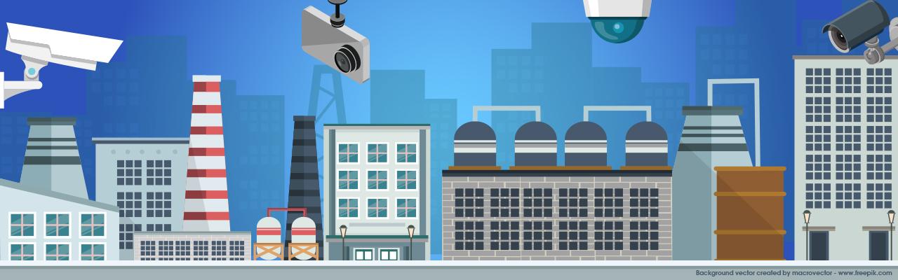 智慧工廠高空監視應用,以制高點即時掌握廠區安全