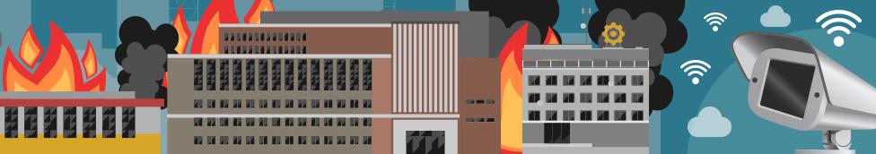 智慧工廠之防火預警偵測